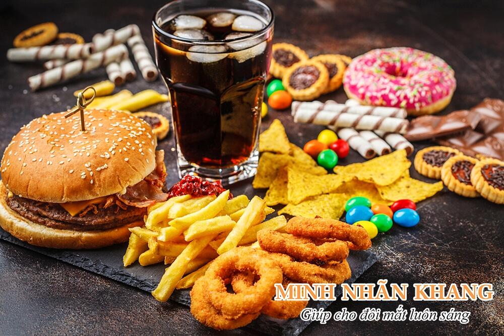 Một số thực phẩm người bệnh glocom nên kiêng ăn
